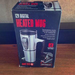 NWOT Heated mug for car